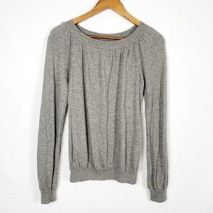 Esprit Grey Lightweight Sweater Ruching